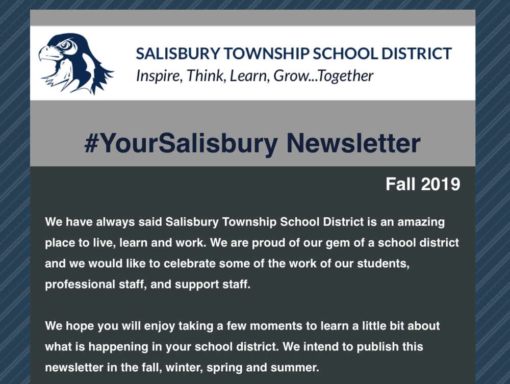 #YourSalisbury Newsletter - Fall 2019 Issue
