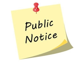Notice of Public Hearing - March 4, 2020