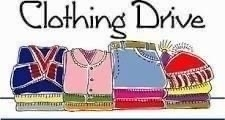 SABC Clothing Drive Date/Location Change - now 10/3 at SHS