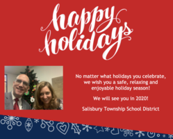 Happy Holidays from the Salisbury Township School District!