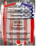 Invitation to Veterans Day Event