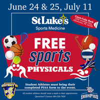 FREE St. Luke's Sports Physicals